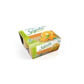 Yogur de Soja Con Naranja y Mandarina