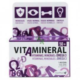 Vitamineral 50+ 30 Cápsulas Con Omega 3 de Dietmed